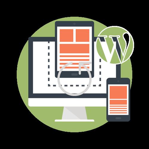 Diseño y desarrollo de themes y plantillas Wordpress a medida