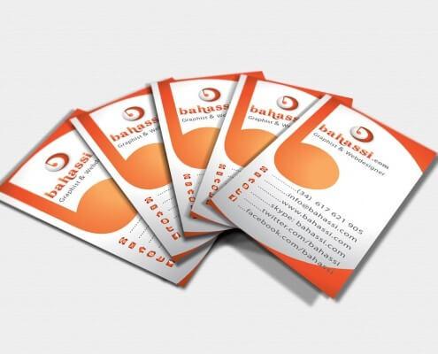 Diseño de tarjetas de visita profesional para mi negocio de diseño Web y grafico freelance.