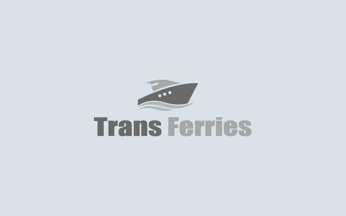 Diseño de logotipo para empresa de transporte marítimo Trans Ferries versión tres
