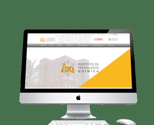 Diseño de portal Web para ITQ Valencia