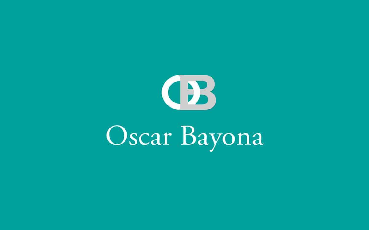 Diseño de logotipo profesional para Oscar Bayona