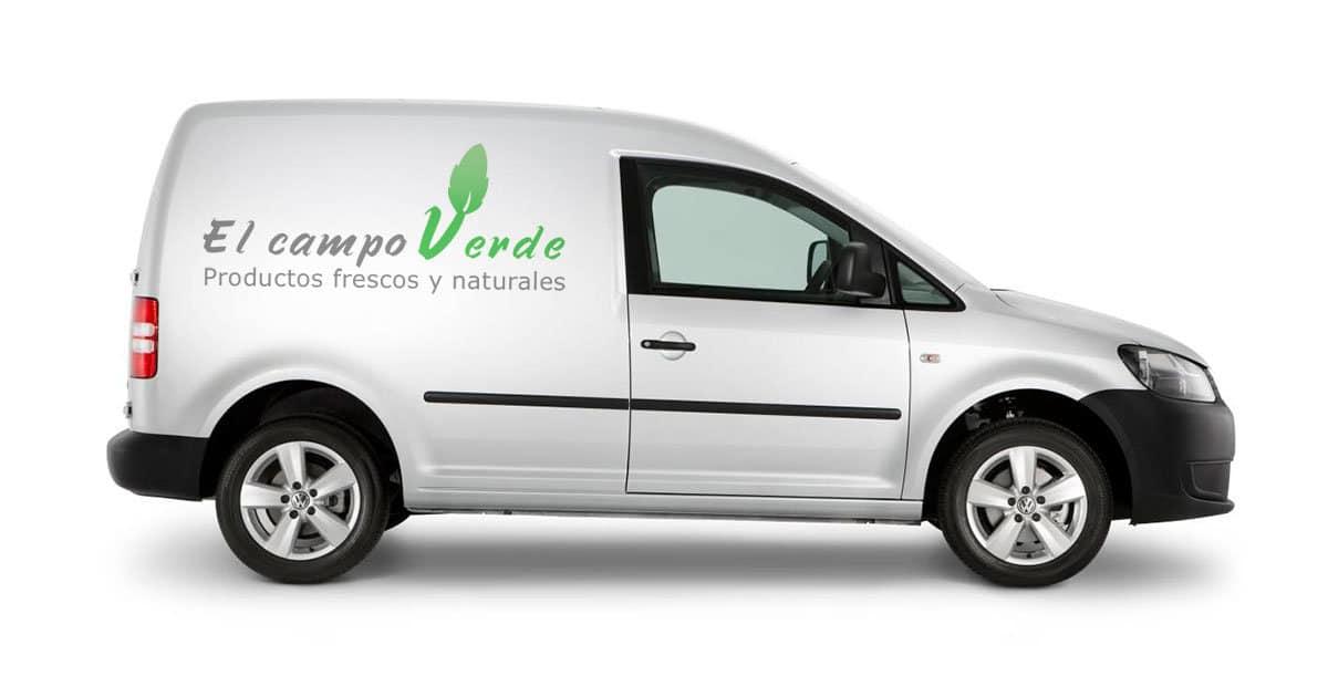 Diseño de logotipo para una empresa de cultivos ecológicos