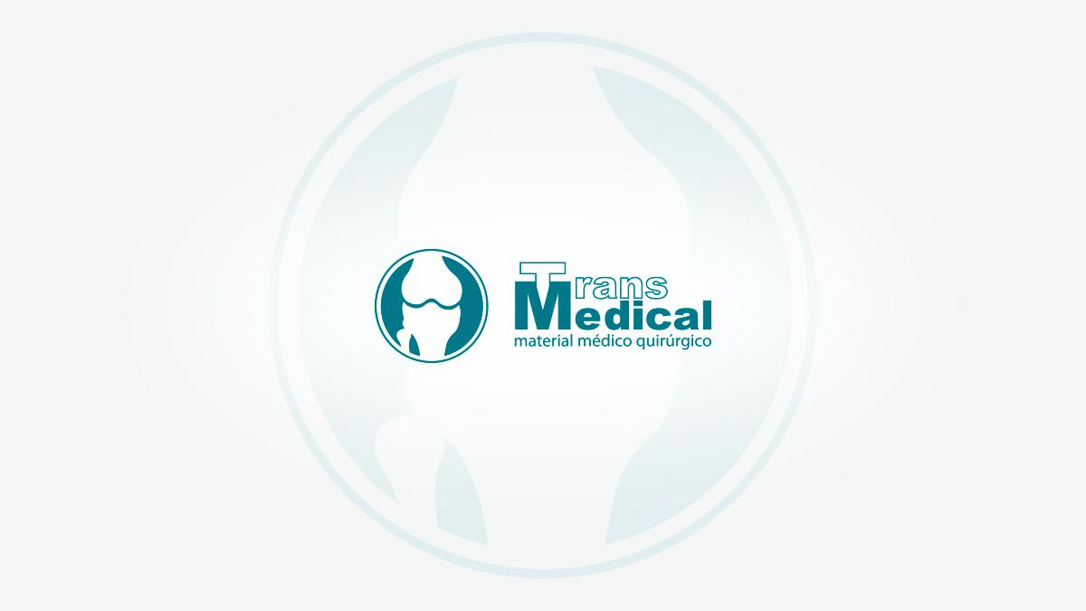 Diseño de logotipo para Transmedical, comercio al por mayor de aparatos e instrumentos médicos en Valencia