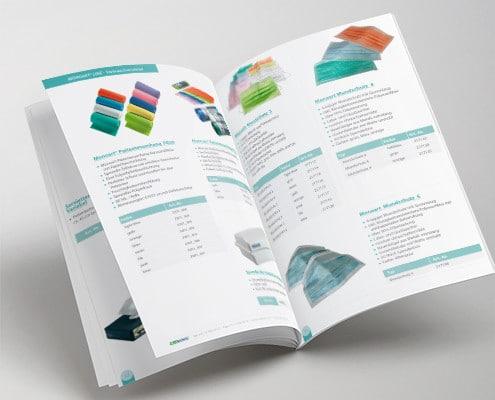 Diseño de catálogo de productos médicos para MedTechnic