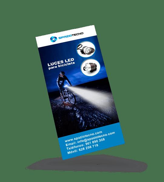 Diseño de folletos publicitarios de productos