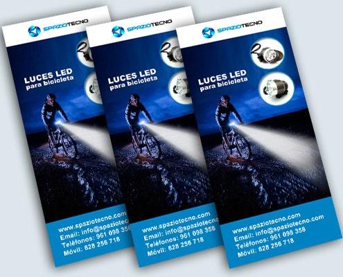Diseño de folletos de productos