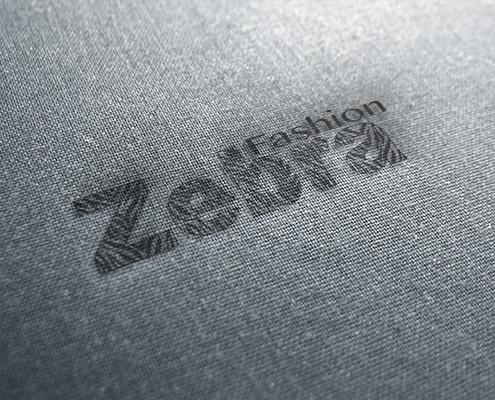 Diseno de logotipo para Zebra Fashion, una marca de ropa joveníl Zebra Fashion