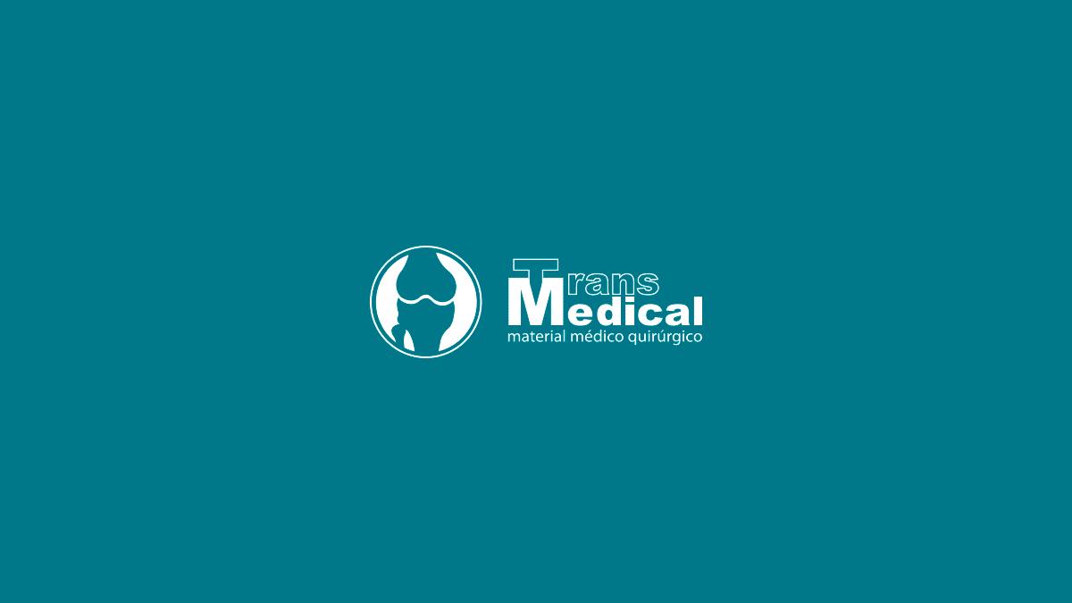 Diseño de logotipo para Transmedical, comercio al por mayor de aparatos e instrumentos ortopédico en Valencia