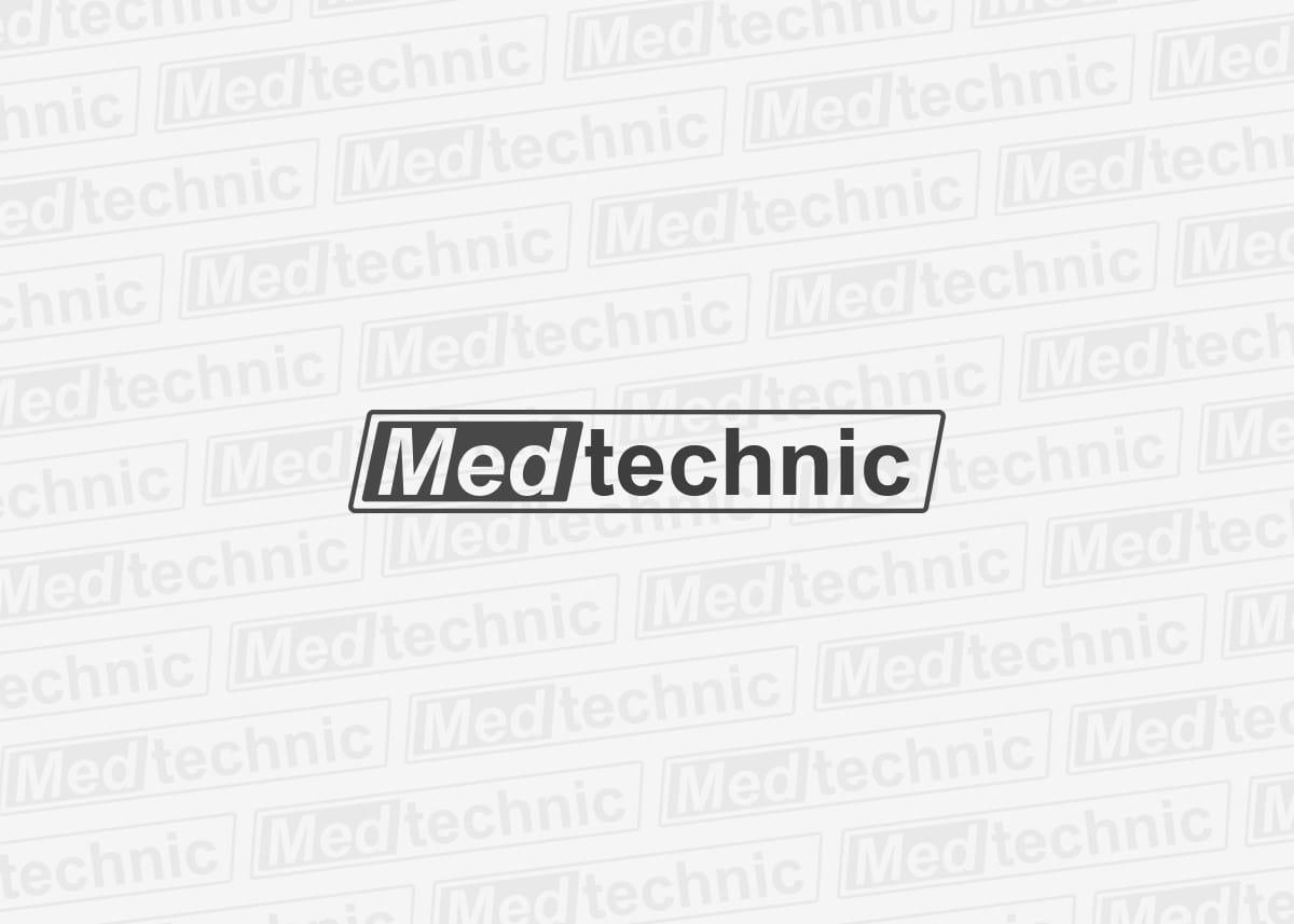 Diseño de logotipo para Medtechnic, empresa de mantenimiento y validación de equipos médico de limpieza