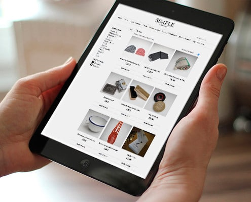 Diseño de tienda online de productos artisanales