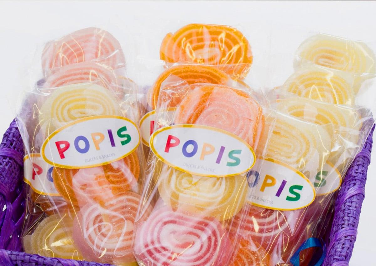 Web para tienda golosinas y caramelos POPIS en Valencia