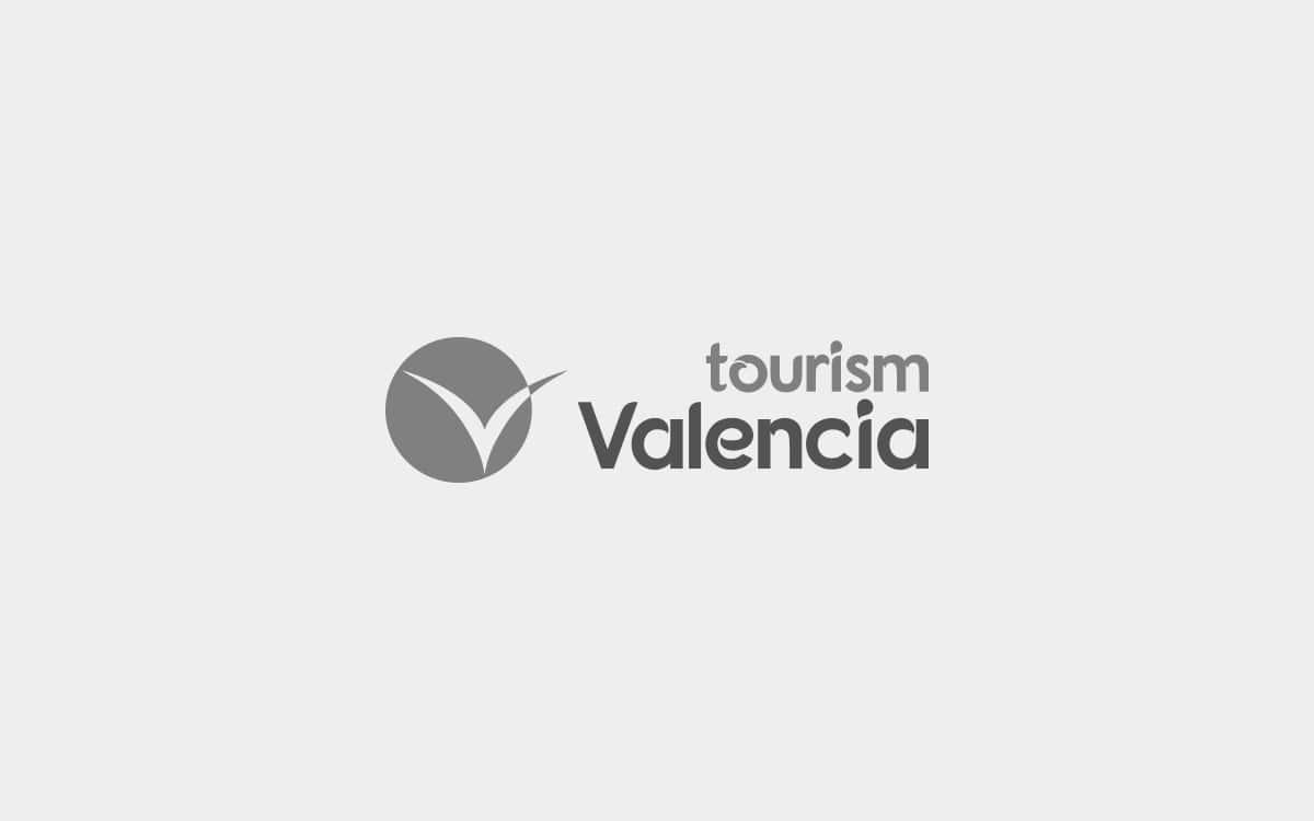 Diseño de logotipo original para la agencia Tourism Valencia