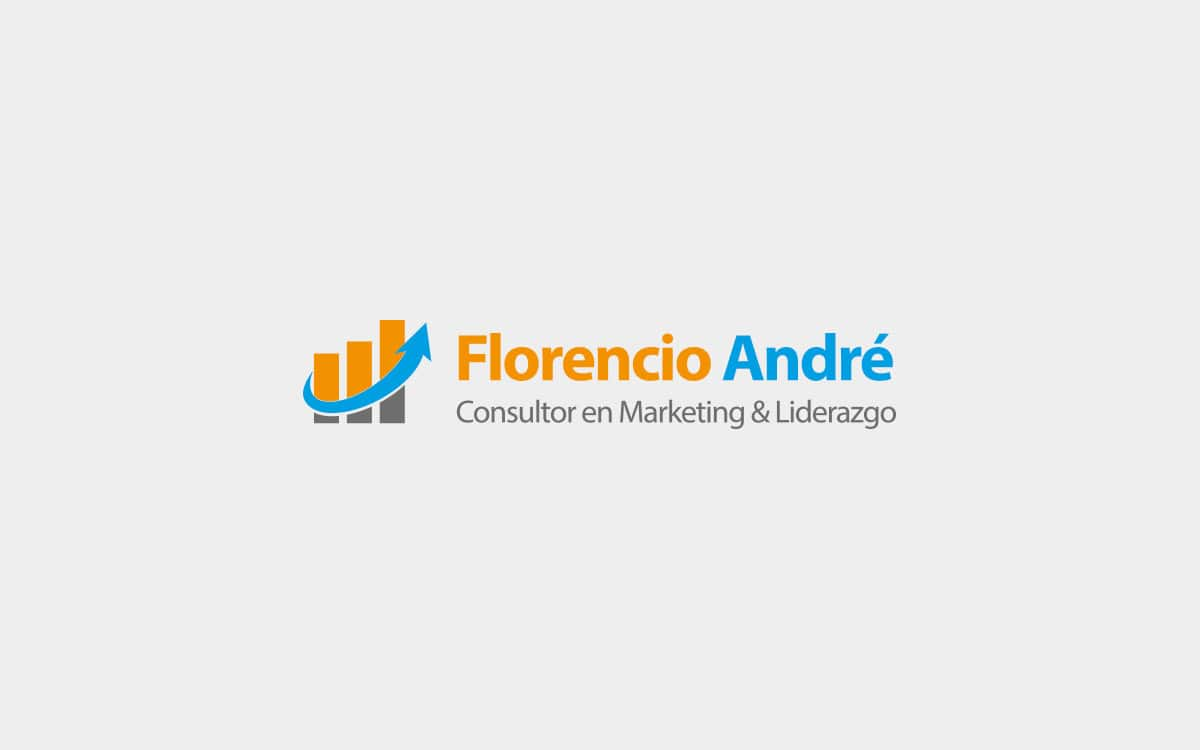 Diseño logotipo para especialista de marketing y liderazgo