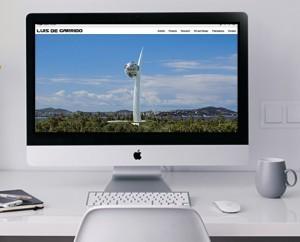 Diseño de página Web para estudio de arquitectura en Valencia