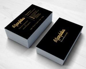 Diseño de tarjetas de visita para Trandalus, traductores y intepretes